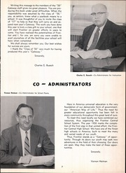 Page 11, 1956 Edition, Frontier Central High School - Gateway Yearbook (Hamburg, NY) online yearbook collection