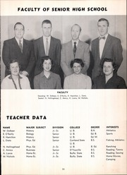 Page 15, 1956 Edition, Frontier Central High School - Gateway Yearbook (Hamburg, NY) online yearbook collection