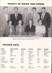 Page 16, 1956 Edition, Frontier Central High School - Gateway Yearbook (Hamburg, NY) online yearbook collection