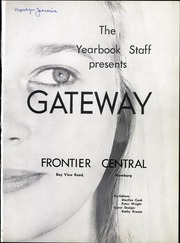 Page 5, 1960 Edition, Frontier Central High School - Gateway Yearbook (Hamburg, NY) online yearbook collection