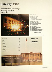 Page 5, 1983 Edition, Frontier Central High School - Gateway Yearbook (Hamburg, NY) online yearbook collection