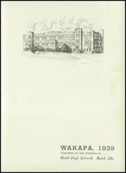 Page 7, 1939 Edition, Buhl High School - Wakapa Yearbook (Buhl, ID) online yearbook collection