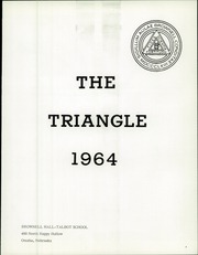 Page 5, 1964 Edition, Brownell Talbot School - Triangle Yearbook (Omaha, NE) online yearbook collection