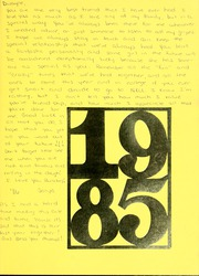 Page 3, 1985 Edition, Grant County High School - Grantonian Yearbook (Dry Ridge, KY) online yearbook collection