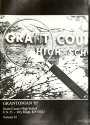 Page 5, 1985 Edition, Grant County High School - Grantonian Yearbook (Dry Ridge, KY) online yearbook collection