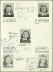 Page 17, 1946 Edition, Wood Ridge High School - Dial Yearbook (Wood Ridge, NJ) online yearbook collection