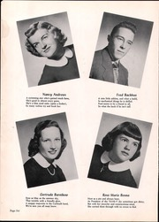 Page 10, 1952 Edition, Wood Ridge High School - Dial Yearbook (Wood Ridge, NJ) online yearbook collection