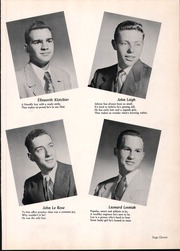 Page 15, 1952 Edition, Wood Ridge High School - Dial Yearbook (Wood Ridge, NJ) online yearbook collection