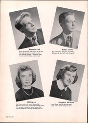 Page 16, 1952 Edition, Wood Ridge High School - Dial Yearbook (Wood Ridge, NJ) online yearbook collection