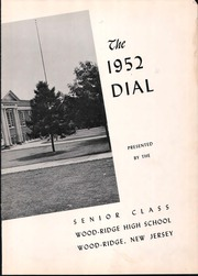 Page 7, 1952 Edition, Wood Ridge High School - Dial Yearbook (Wood Ridge, NJ) online yearbook collection