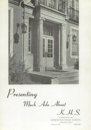 Page 5, 1947 Edition, Kirkwood High School - Pioneer Yearbook (Kirkwood, MO) online yearbook collection