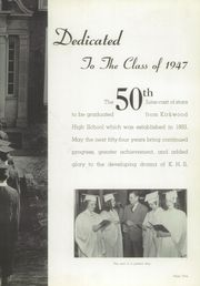 Page 9, 1947 Edition, Kirkwood High School - Pioneer Yearbook (Kirkwood, MO) online yearbook collection