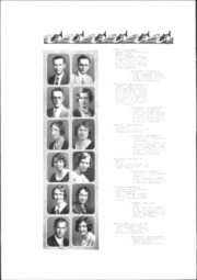 Page 16, 1932 Edition, Downey High School - Volsung Yearbook (Downey, CA) online yearbook collection