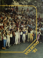 1981 Edition, Downey High School - Volsung Yearbook (Downey, CA)