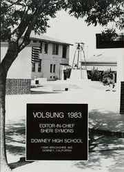 Page 5, 1983 Edition, Downey High School - Volsung Yearbook (Downey, CA) online yearbook collection
