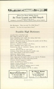 Page 160, 1926 Edition, Franklin High School - Post Yearbook (Portland, OR) online yearbook collection