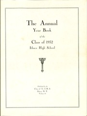 Page 5, 1932 Edition, Ithaca High School - Annual Yearbook (Ithaca, NY) online yearbook collection