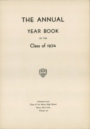 Page 5, 1934 Edition, Ithaca High School - Annual Yearbook (Ithaca, NY) online yearbook collection