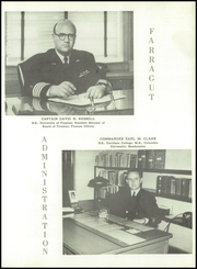 Page 15, 1956 Edition, Admiral Farragut Academy - Buccaneer Yearbook (St Petersburg, FL) online yearbook collection
