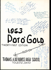 Page 5, 1953 Edition, DeVilbiss High School - Pot O Gold Yearbook (Toledo, OH) online yearbook collection