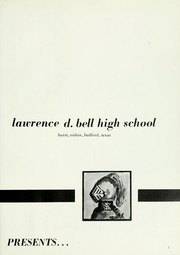 Page 5, 1966 Edition, Lawrence D Bell High School - Raider Yearbook (Hurst, TX) online yearbook collection