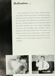 Page 8, 1966 Edition, Lawrence D Bell High School - Raider Yearbook (Hurst, TX) online yearbook collection