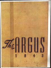 Page 1, 1943 Edition, Ottumwa High School - Argus Yearbook (Ottumwa, IA) online yearbook collection