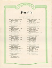 Page 11, 1924 Edition, Cranston High School - Cranstonian Yearbook (Cranston, RI) online yearbook collection