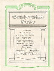 Page 12, 1924 Edition, Cranston High School - Cranstonian Yearbook (Cranston, RI) online yearbook collection