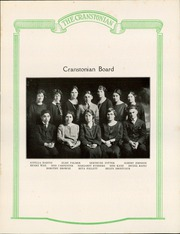 Page 13, 1924 Edition, Cranston High School - Cranstonian Yearbook (Cranston, RI) online yearbook collection