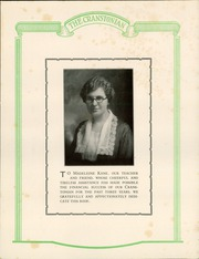 Page 7, 1924 Edition, Cranston High School - Cranstonian Yearbook (Cranston, RI) online yearbook collection