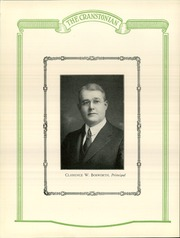 Page 10, 1926 Edition, Cranston High School - Cranstonian Yearbook (Cranston, RI) online yearbook collection