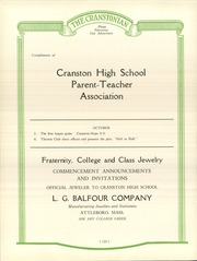 Page 128, 1926 Edition, Cranston High School - Cranstonian Yearbook (Cranston, RI) online yearbook collection