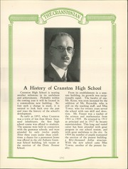 Page 13, 1926 Edition, Cranston High School - Cranstonian Yearbook (Cranston, RI) online yearbook collection
