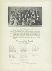 Page 11, 1933 Edition, Cranston High School - Cranstonian Yearbook (Cranston, RI) online yearbook collection
