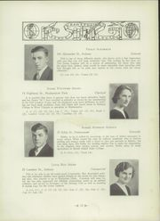 Page 16, 1933 Edition, Cranston High School - Cranstonian Yearbook (Cranston, RI) online yearbook collection