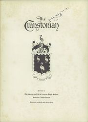 Page 5, 1933 Edition, Cranston High School - Cranstonian Yearbook (Cranston, RI) online yearbook collection