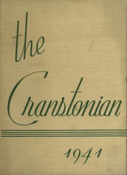 1941 Edition, Cranston High School - Cranstonian Yearbook (Cranston, RI)