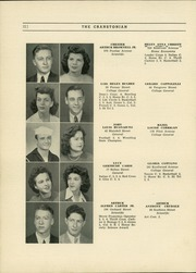 Page 16, 1944 Edition, Cranston High School - Cranstonian Yearbook (Cranston, RI) online yearbook collection