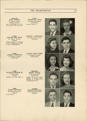 Page 17, 1944 Edition, Cranston High School - Cranstonian Yearbook (Cranston, RI) online yearbook collection