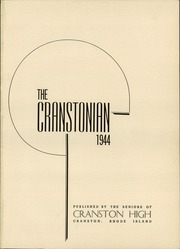 Page 5, 1944 Edition, Cranston High School - Cranstonian Yearbook (Cranston, RI) online yearbook collection