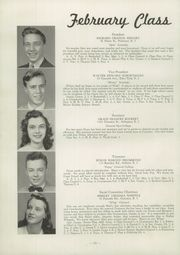 Page 14, 1945 Edition, Cranston High School - Cranstonian Yearbook (Cranston, RI) online yearbook collection