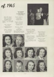 Page 15, 1945 Edition, Cranston High School - Cranstonian Yearbook (Cranston, RI) online yearbook collection