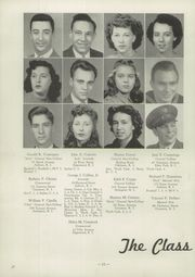 Page 16, 1945 Edition, Cranston High School - Cranstonian Yearbook (Cranston, RI) online yearbook collection