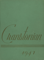 Page 1, 1947 Edition, Cranston High School - Cranstonian Yearbook (Cranston, RI) online yearbook collection