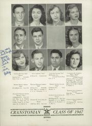 Page 14, 1947 Edition, Cranston High School - Cranstonian Yearbook (Cranston, RI) online yearbook collection