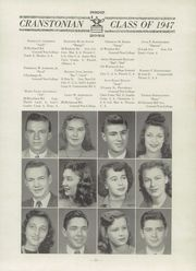 Page 15, 1947 Edition, Cranston High School - Cranstonian Yearbook (Cranston, RI) online yearbook collection