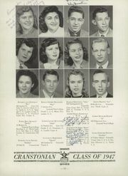 Page 16, 1947 Edition, Cranston High School - Cranstonian Yearbook (Cranston, RI) online yearbook collection