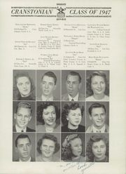 Page 17, 1947 Edition, Cranston High School - Cranstonian Yearbook (Cranston, RI) online yearbook collection