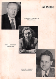 Page 10, 1952 Edition, Cranston High School - Cranstonian Yearbook (Cranston, RI) online yearbook collection